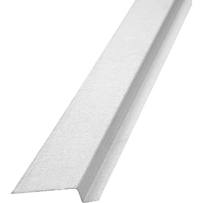 NorWesco 3/8 In. x 3/4 In. x 1-3/4 In. x 10 Ft. Mill Galvanized Ply Edge Z-Style Flashing