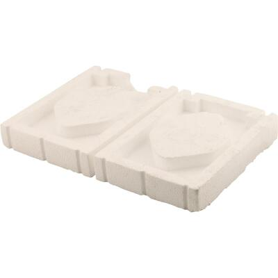 NorWesco 6-1/2 In. x 8-3/4 In. Automatic Vent Foam Plug (2 Count)