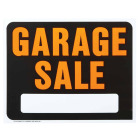 Hy-Ko Heavy Gauge Plastic Sign, Garage Sale Image 1