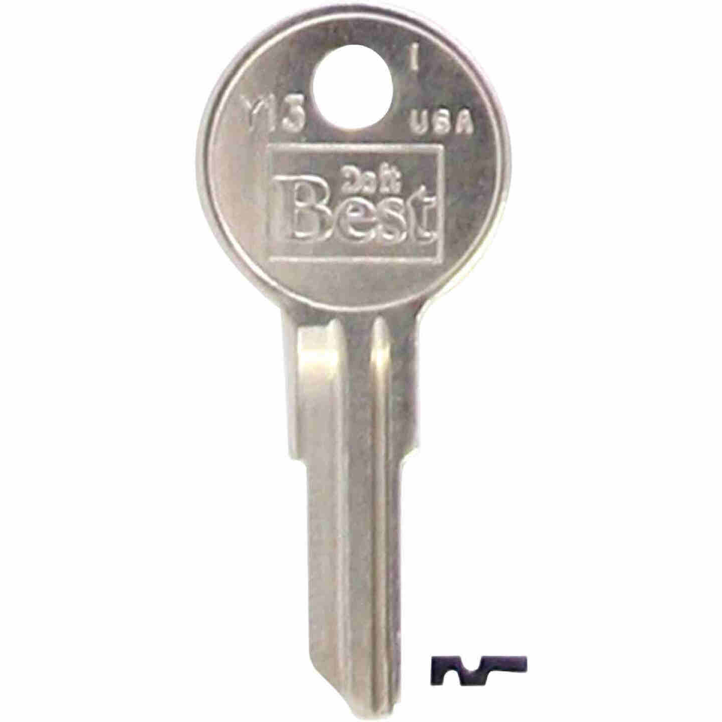 Do it Best Yale Nickel Plated House Key, Y13 (10-Pack) Image 1