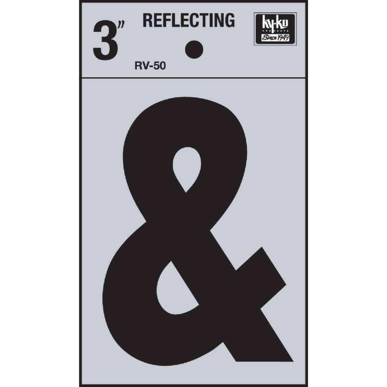 Hy-Ko 3 In. Vinyl Adhesive Symbol, Ampersand Image 1