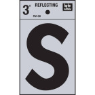 Hy-Ko Vinyl 3 In. Reflective Adhesive Letter, S Image 1