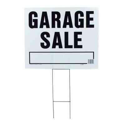 Hy-Ko Corrugated Plastic Sign, Garage Sale
