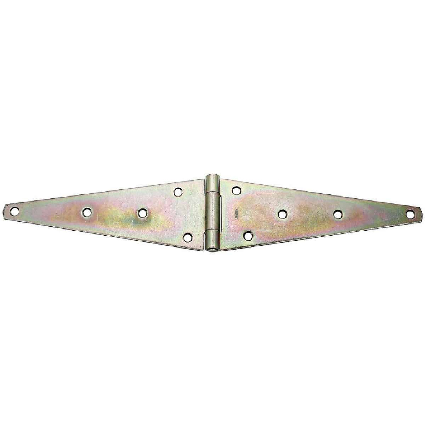 National 4.60 In. x 12 In. Zinc Heavy-Duty Strap Hinge Image 1