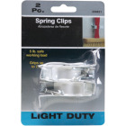 Rust-Resistant 7/8 In. Spring Clip Hook (2 Pack) Image 3