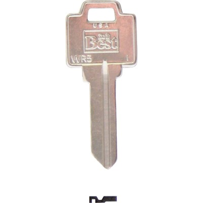 Do it Best Weiser Nickel Plated House Key, WR5 (10-Pack)
