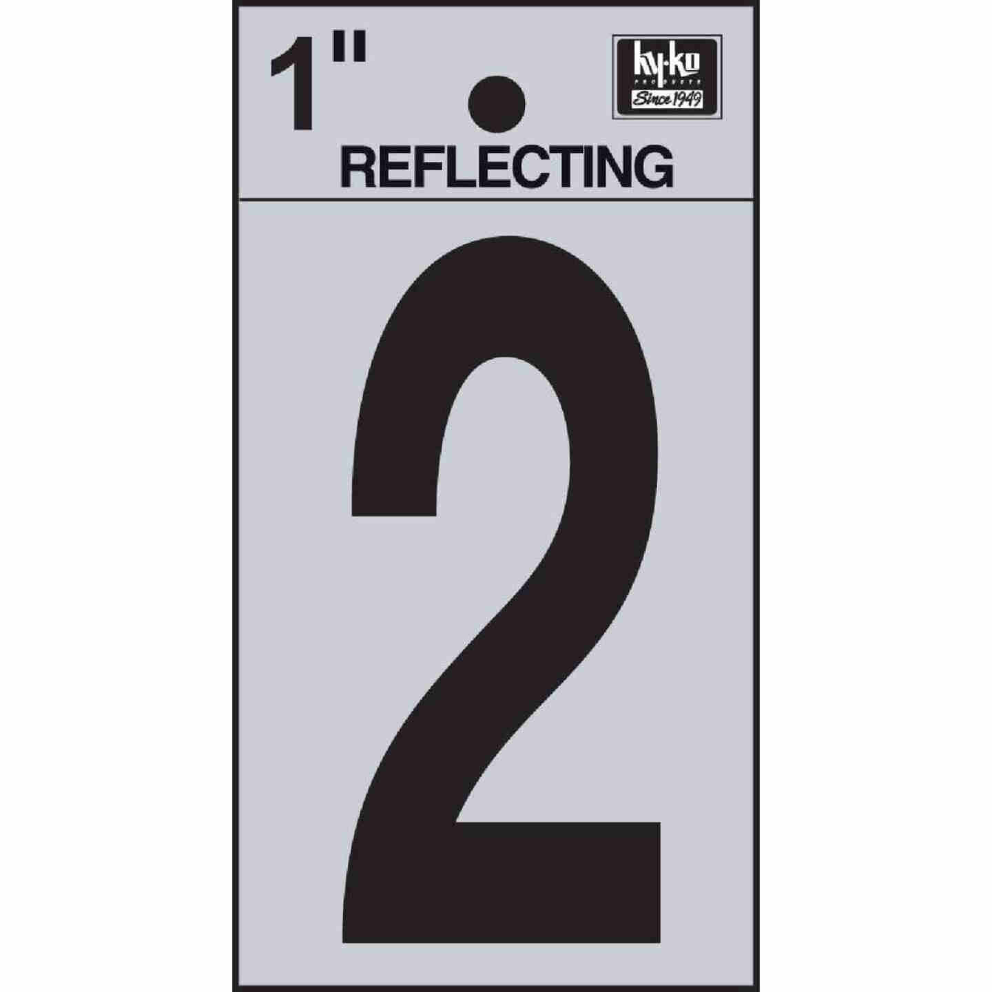 Hy-Ko Vinyl 1 In. Reflective Adhesive Number Two Image 1