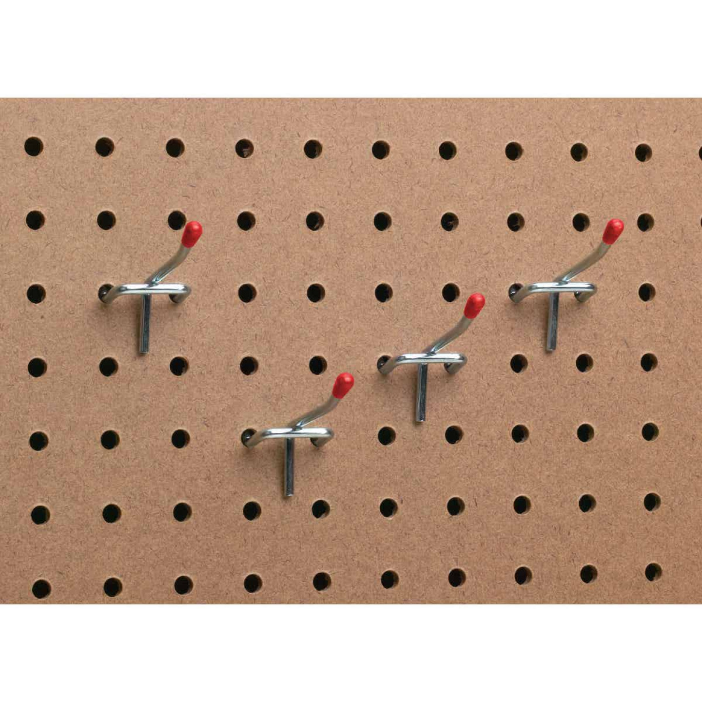 2 In. Light Duty Safety Tip Straight Pegboard Hook (4-Count) Image 3