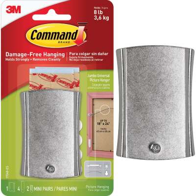 3M Command Metal Adhesive Picture Hanger