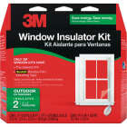 3M 62 In. x 84 In. Outdoor Window Insulation Kit (2-Pack) Image 1