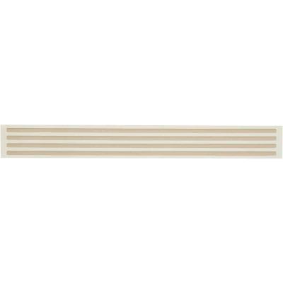 Smart Edge 0.27 In. x 18 In. Peel & Stick Edge Backsplash Trim, Panella (4-Pack)