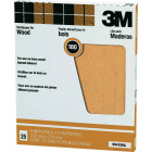 3M Pro-Pak Wood Surfaces 9 In. x 11 In. 180 Grit Very Fine Sandpaper (25-Pack) Image 1