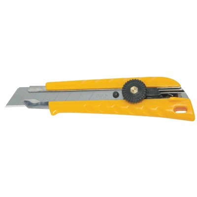 Olfa 18mm 8-Point Ratchet-Lock L-1 Snap-Off Knife