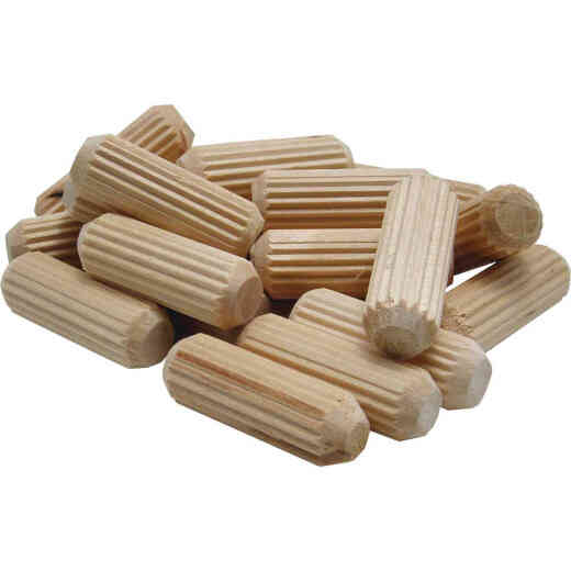General Tools 3/8 In. Fluted Hardwood Dowel Pin (35-Count)