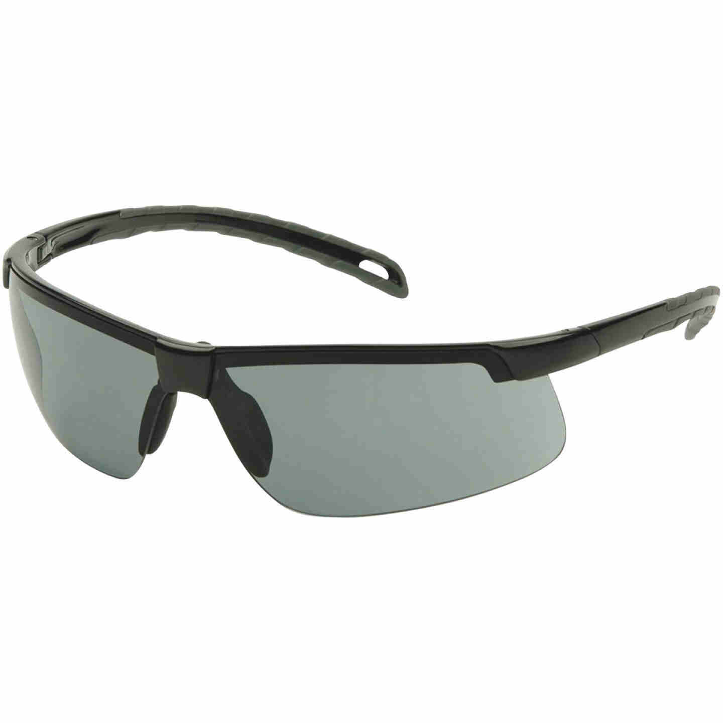 Pyramex Ever-Lite H2MAX Black Frame Safety Glasses with Gray Anti-Fog Lenses Image 1