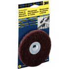 3M Sandblaster 5 In. 1/2 In., for Contours Paint Removal Disc Image 1
