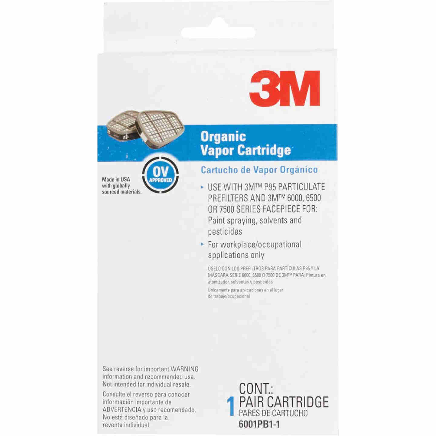 3M OV/P95 Professional Paint Replacement Filter Cartridge (2-Pack) Image 2