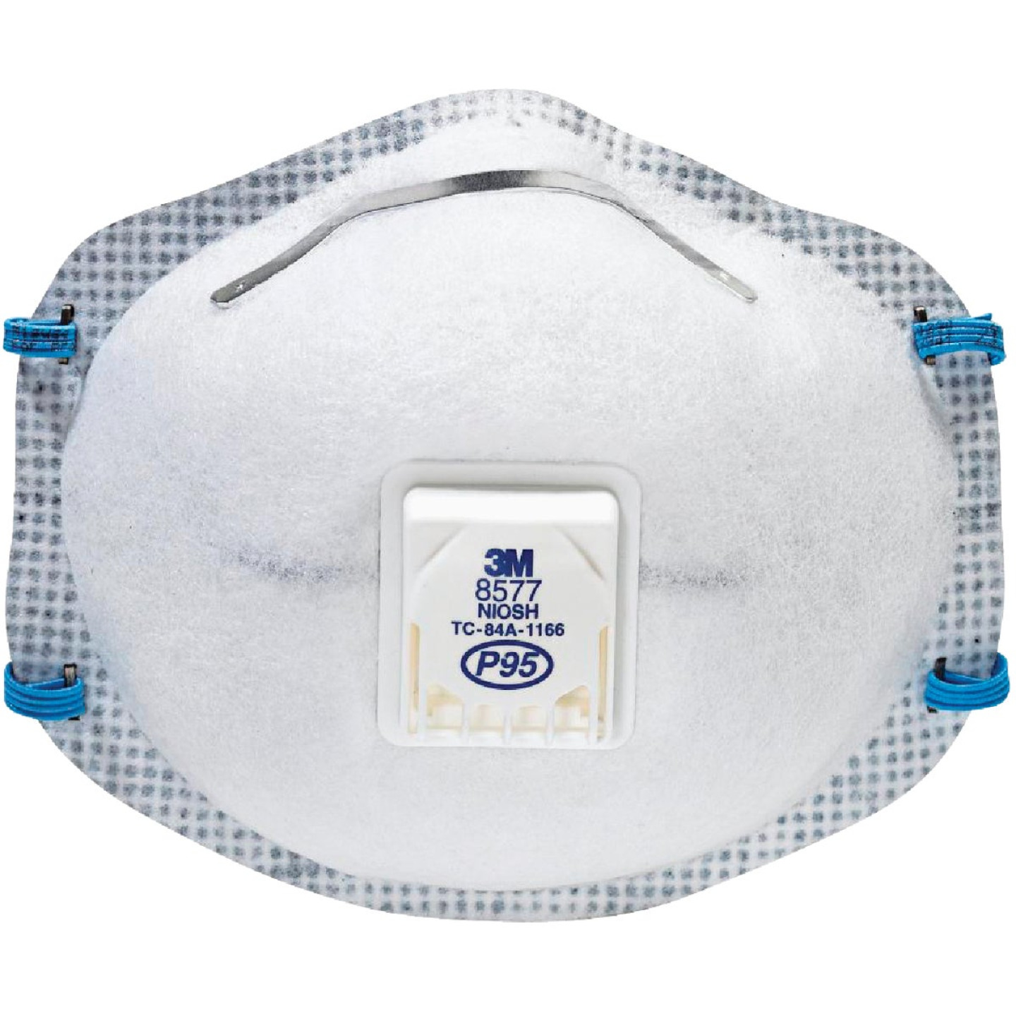 3M P95 Particulate Respirator with Nuisance Level Organic Vapor Relief (10-Pack) Image 1