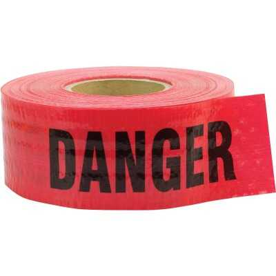 C.H. Hanson 3 In. x 500 Ft. 5 mil Reinforced Danger Tape