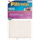 3M Filtrete 14 In. x 30 In. x 1 In. Ultra Allergen Healthy Living 1550 MPR Furnace Filter Image 1