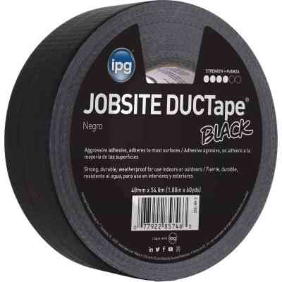Intertape DUCTape 1.88 In. x 60 Yd. General Purpose Duct Tape, Black