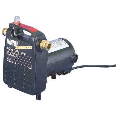 Wayne 1/2 HP 115V 1450 GPH Lift Portable Pump