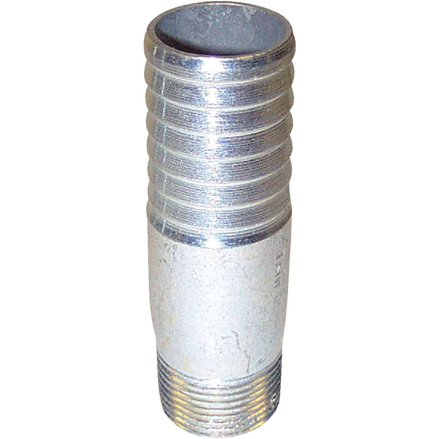 Merrill 1 In. Insert x 1 In. MIP Threaded Galvanized Adapter Image 1