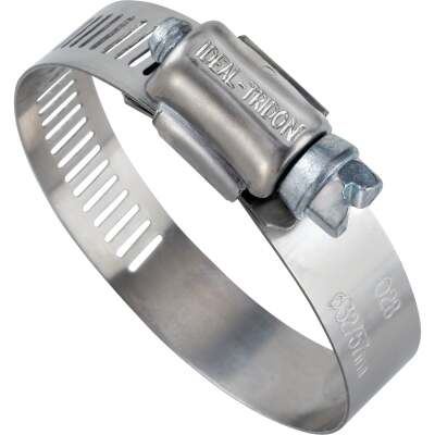 Ideal 3/4 In. - 1-3/4 In. 57 Stainless Steel Hose Clamp with Zinc-Plated Carbon Steel Screw