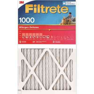 3M Filtrete 20 In. x 25 In. x 1 In. Allergen Defense 1000/1085 MPR Furnace Filter