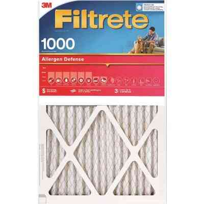 3M Filtrete 14 In. x 25 In. x 1 In. Allergen Defense 1000/1085 MPR Furnace Filter