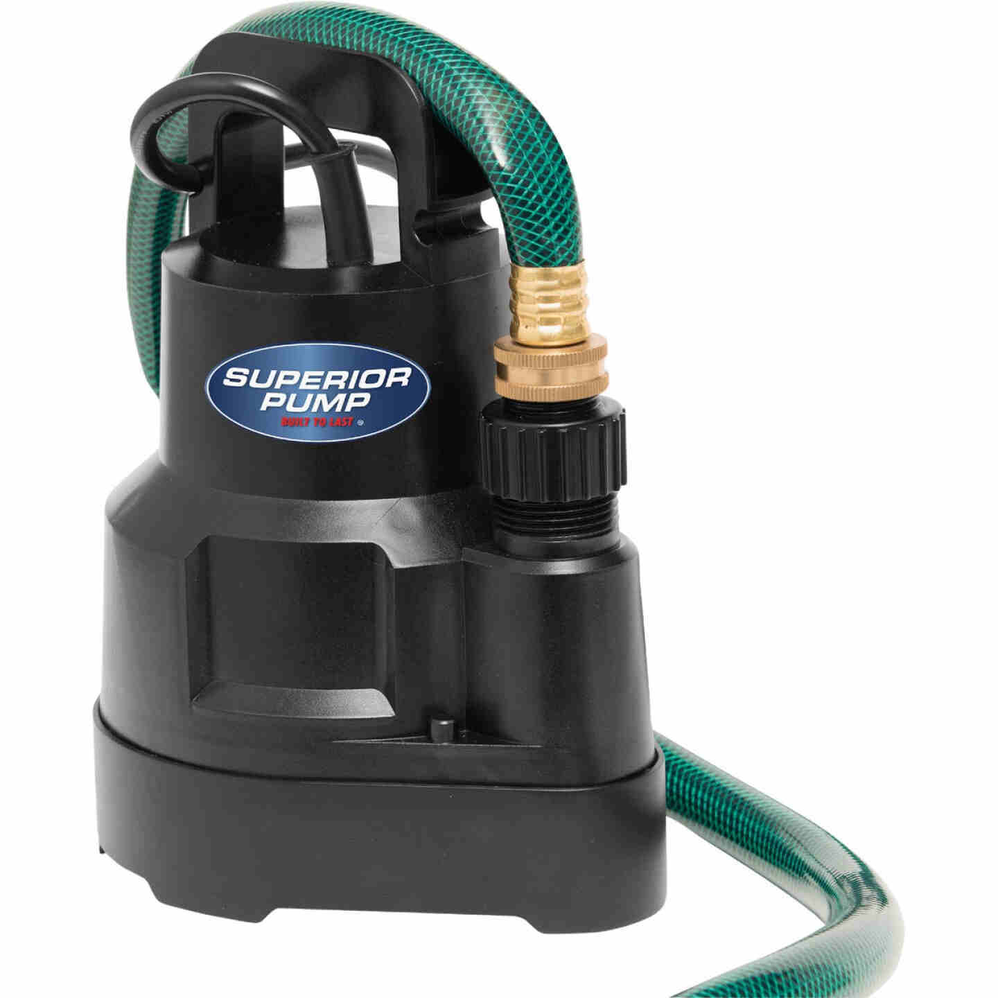 Superior Pump 1/6 HP 1920 GPH Oil-Free Submersible Utility Pump Image 2