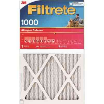3M Filtrete 14 In. x 14 In. x 1 In. Allergen Defense 1000/1085 MPR Furnace Filter