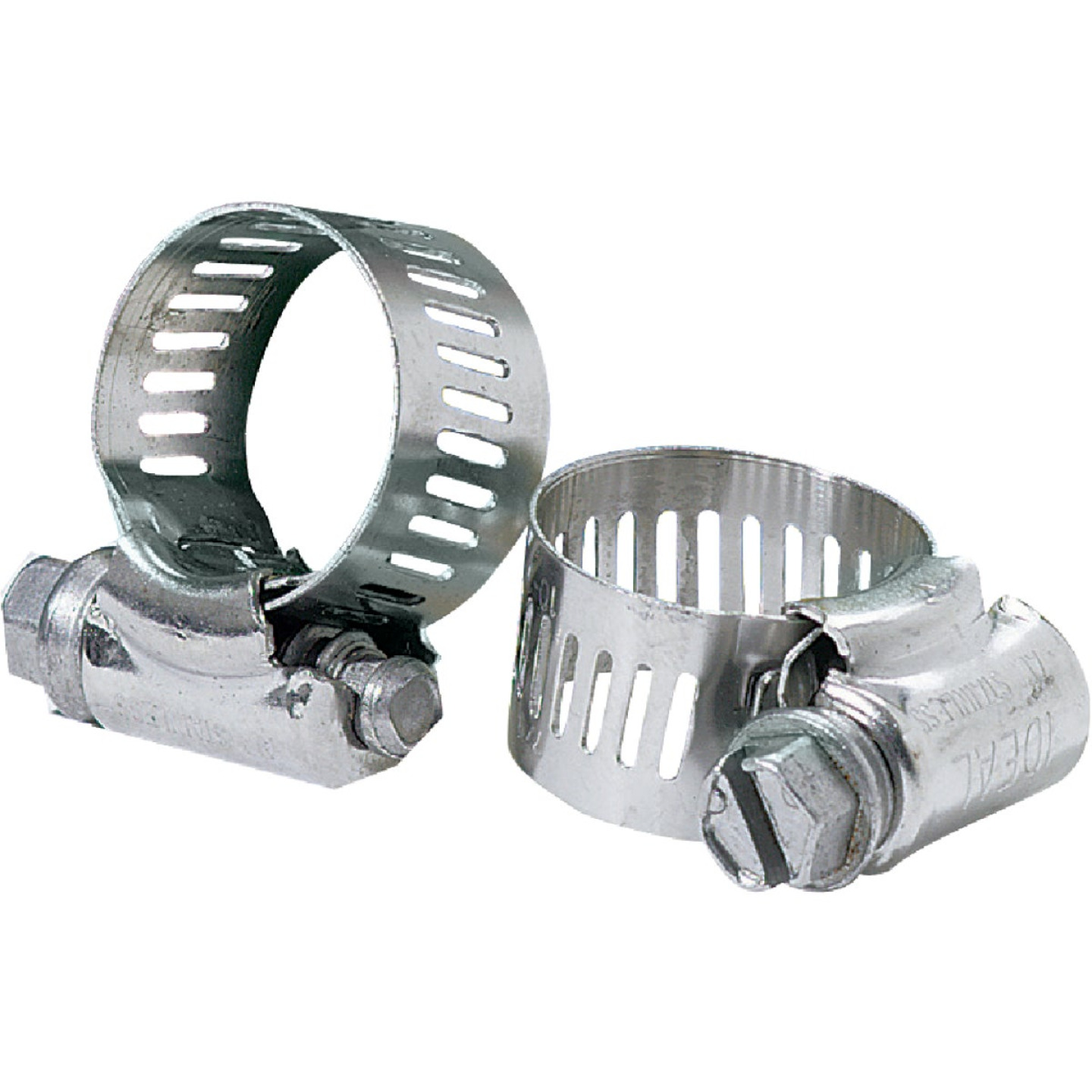Ideal 3/8 In. - 7/8 In. 67 All Stainless Steel Hose Clamp Image 1
