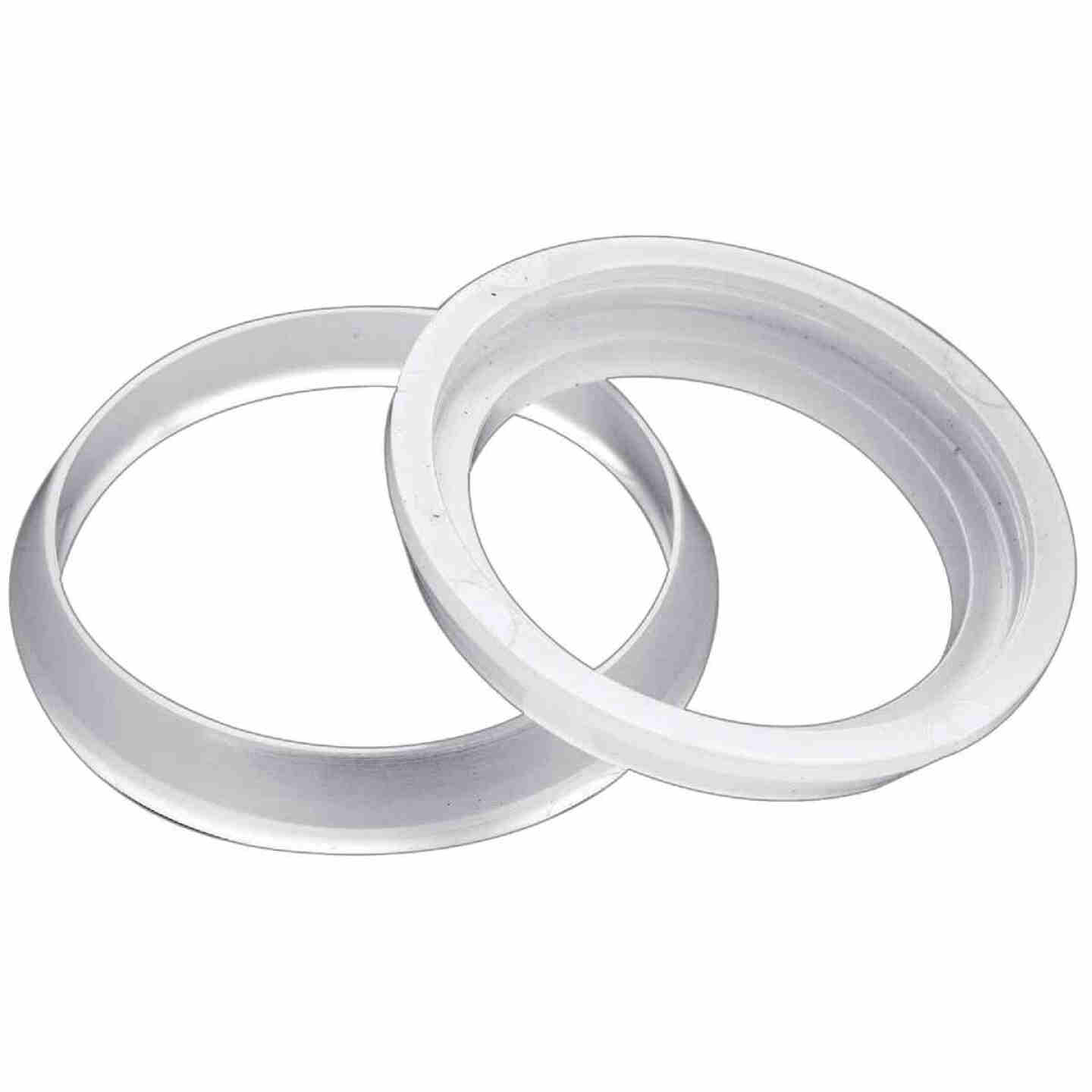 Do it 1-1/2 In. x 1-1/4 In. Clear Poly Slip Joint Washers (2 Pack) Image 1