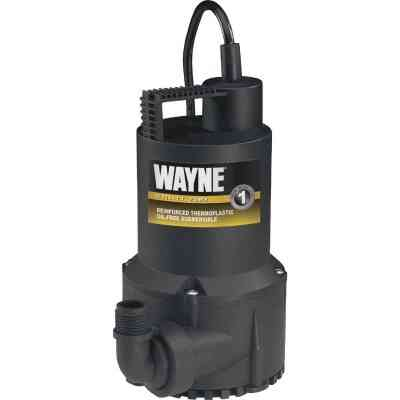 Wayne 1/6 HP Submersible Continuous-Duty Utility Pump