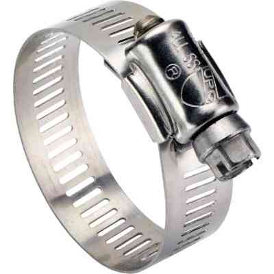 Ideal 2-1/2 In. - 3-1/2 In. All Stainless Steel Marine-Grade Hose Clamp