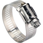 Ideal 2-1/2 In. - 4-1/2 In. All Stainless Steel Marine-Grade Hose Clamp Image 1