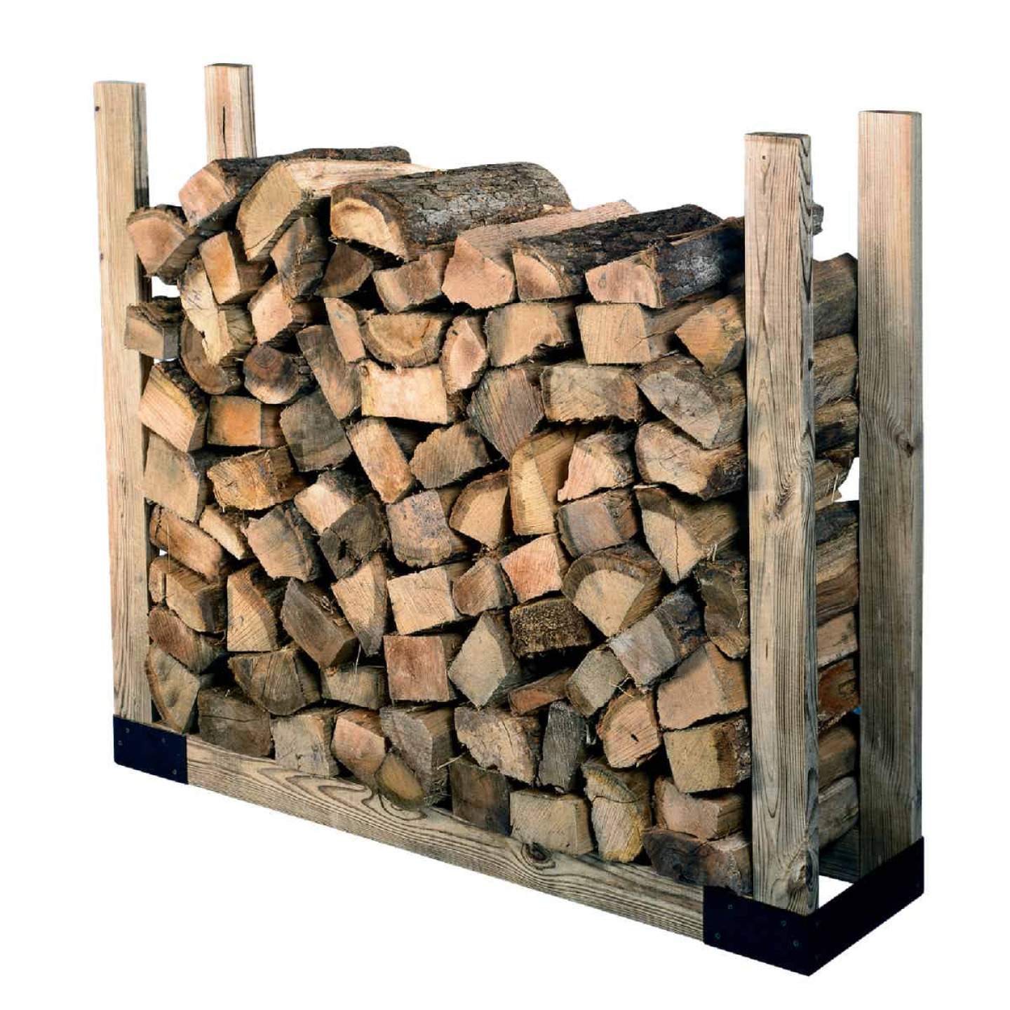 Shelter Brackets 14 In. Log Rack Kit Image 1