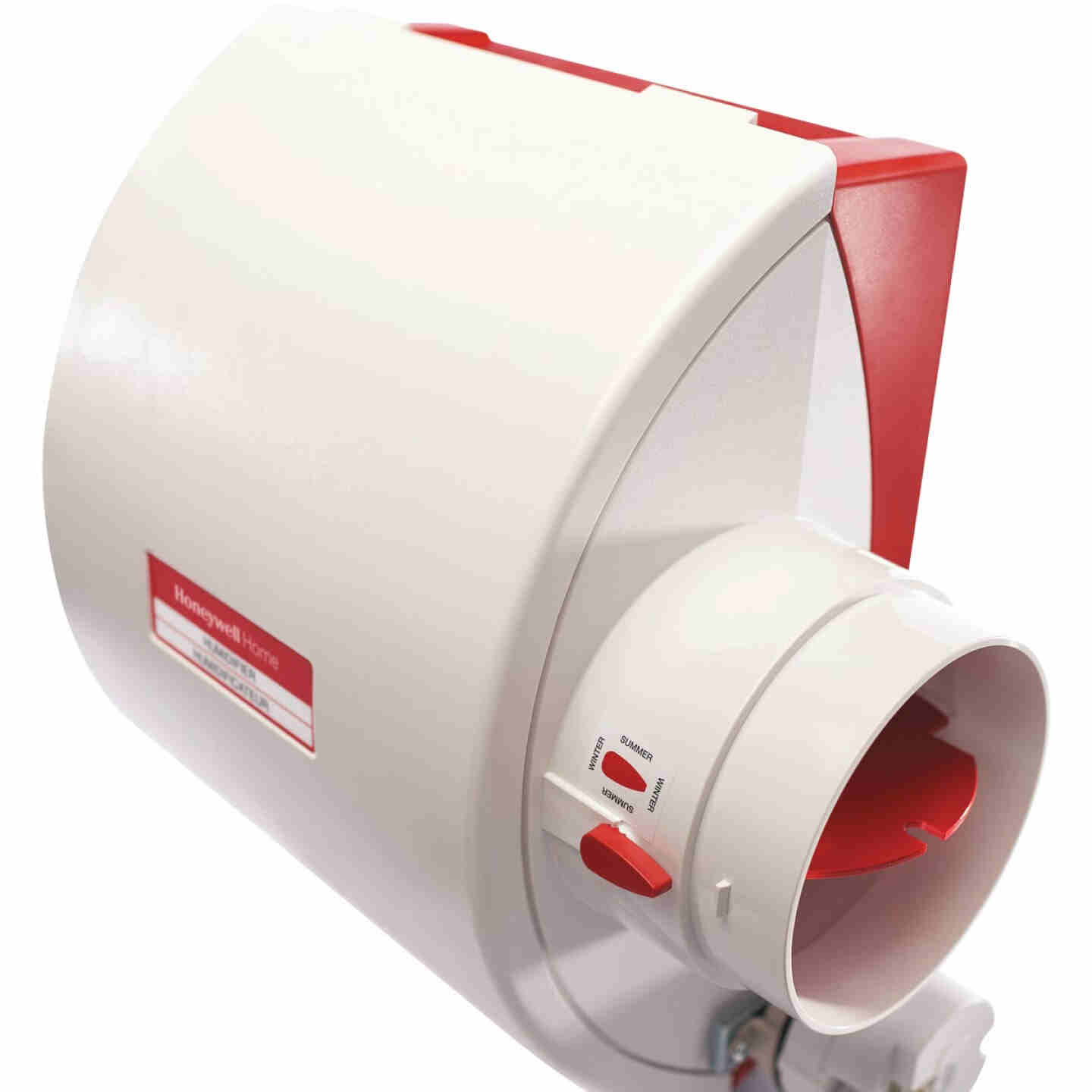 Honeywell Home 12.15 In. W. x 15.68 In. H. x 10.9 In. D. Whole House Flow-Thru Bypass Furnace Humidifier Image 3
