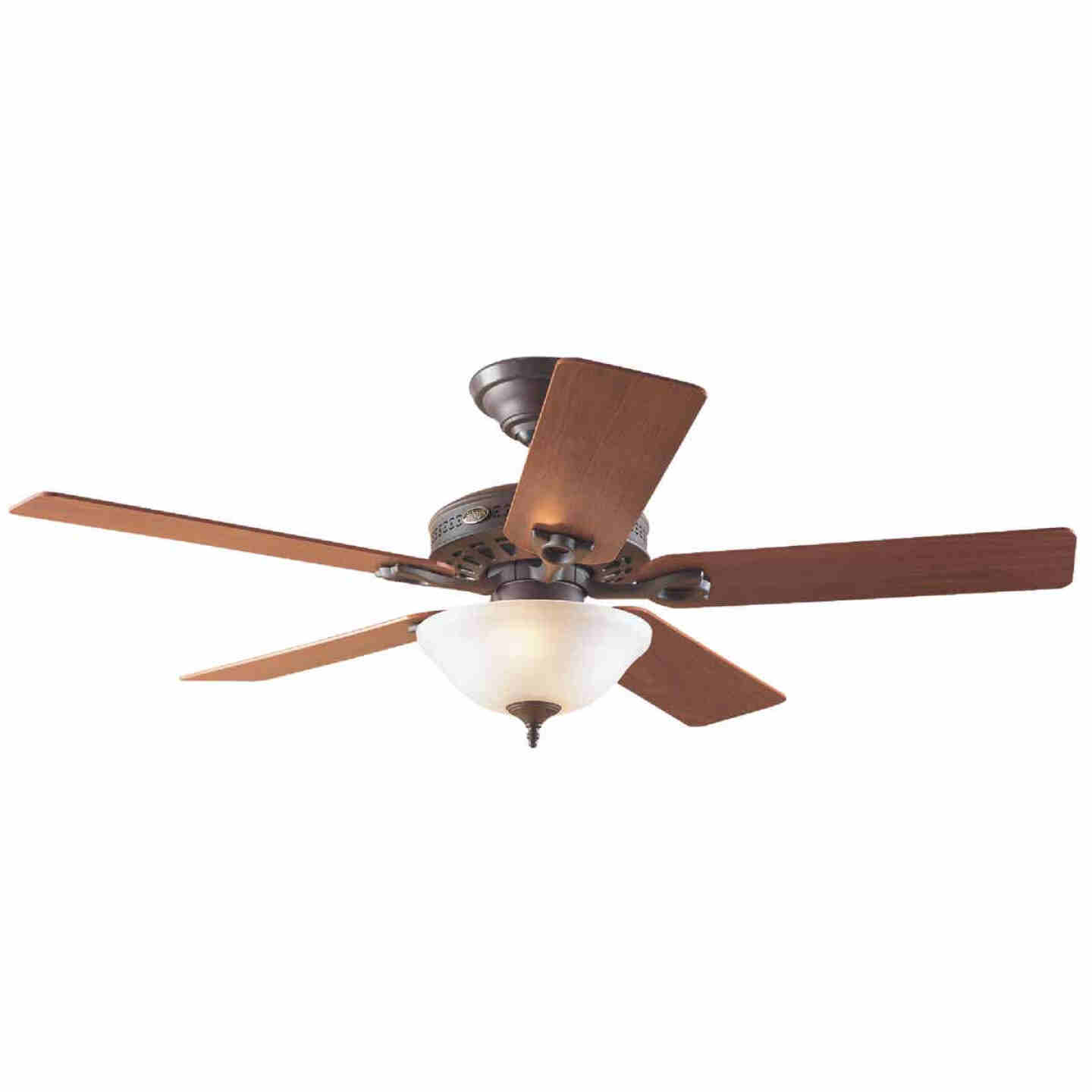 Hunter Astoria 52 In. New Bronze Ceiling Fan with Light Kit Image 1