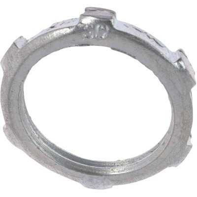 Halex 2 In. Rigid & IMC Steel Reversible Conduit Locknut