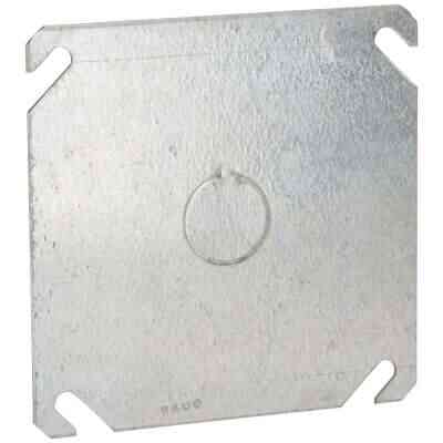 Raco 1/2 In. Knockout 4 In. x 4 In. Square Blank Cover