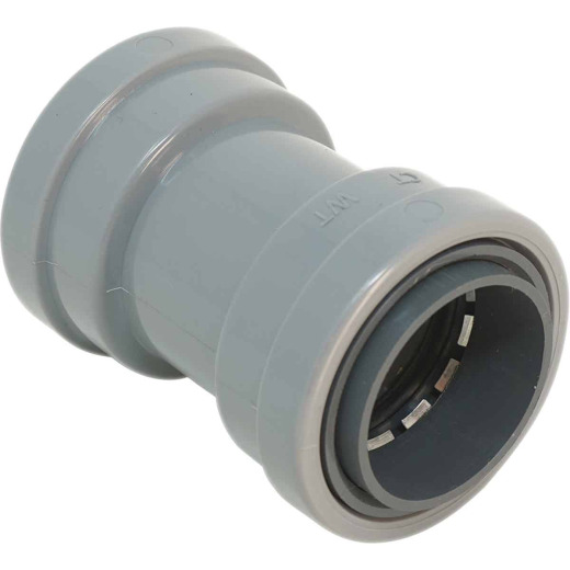 Southwire SimPush 3/4 In. PVC-CIC Push-To-Install Conduit Coupling (5-Pack)