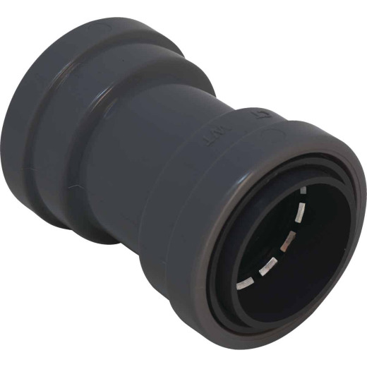 Southwire SimPush 1/2 In. Liquid Tight Push-To-Install Type B Conduit Coupling