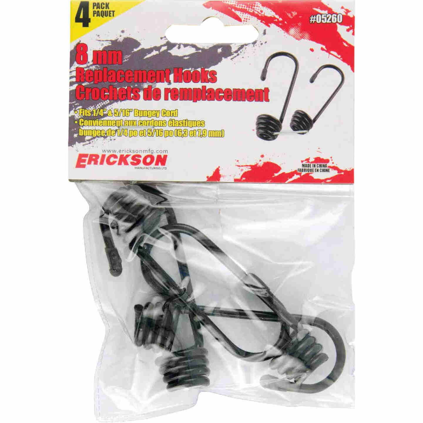 Erickson 8mm Metal Cord Hook Image 1
