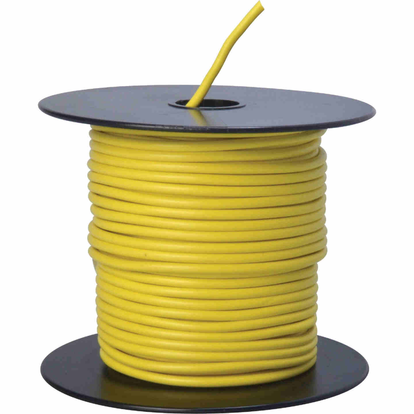 ROAD POWER 100 Ft. 14 Ga. PVC-Coated Primary Wire, Yellow Image 1