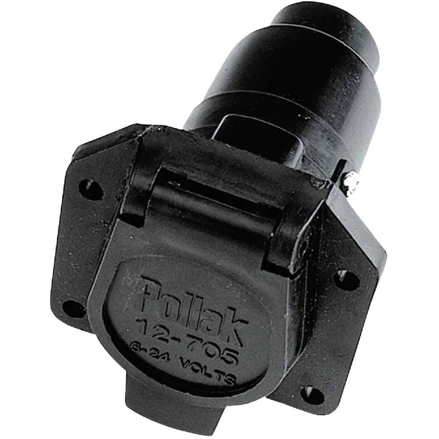 Reese Towpower 7-Blade Vehicle Side Connector Image 1