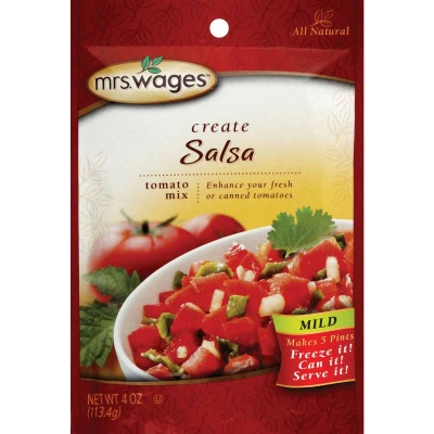 Mrs. Wages 4 Oz. Mild Salsa Tomato Mix