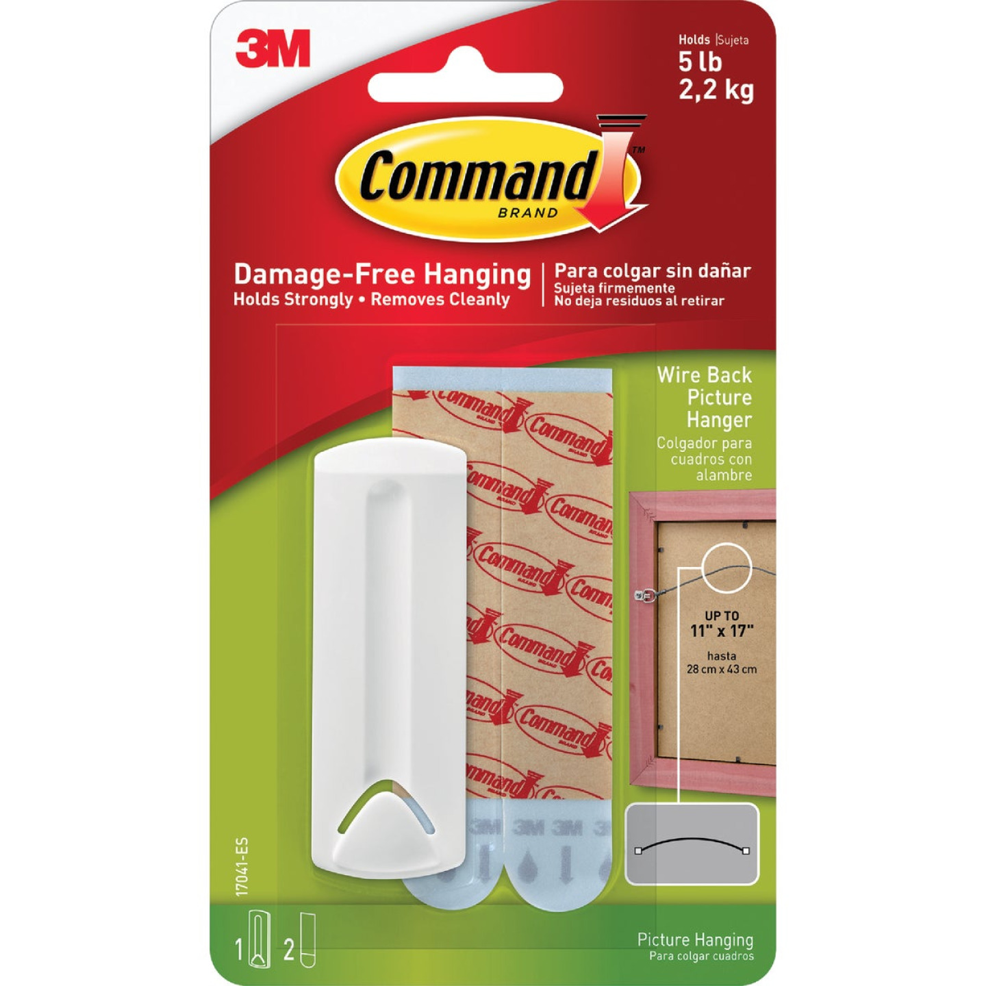 Command Adhesive Picture Hanger Image 2