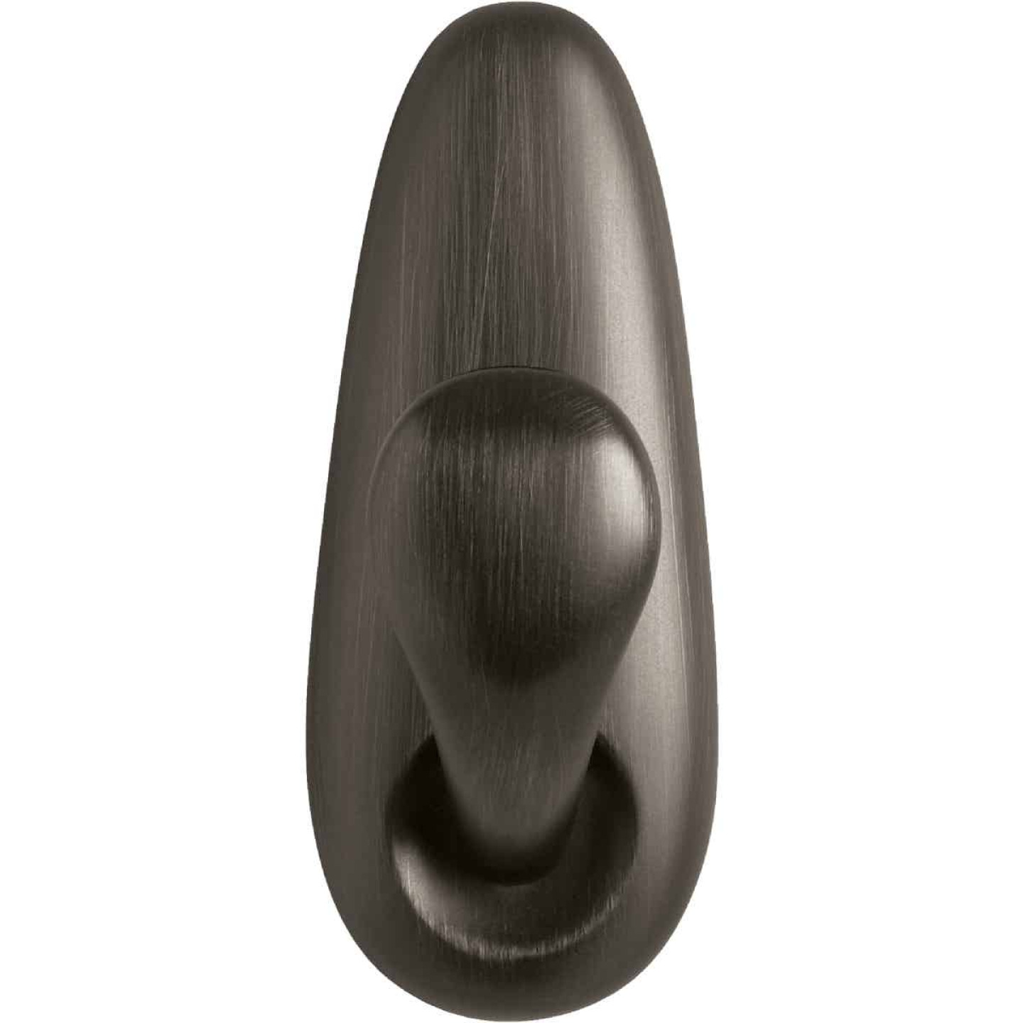 3M Command Large Oil Rubbed Bronze Metal Adhesive Hook Image 3
